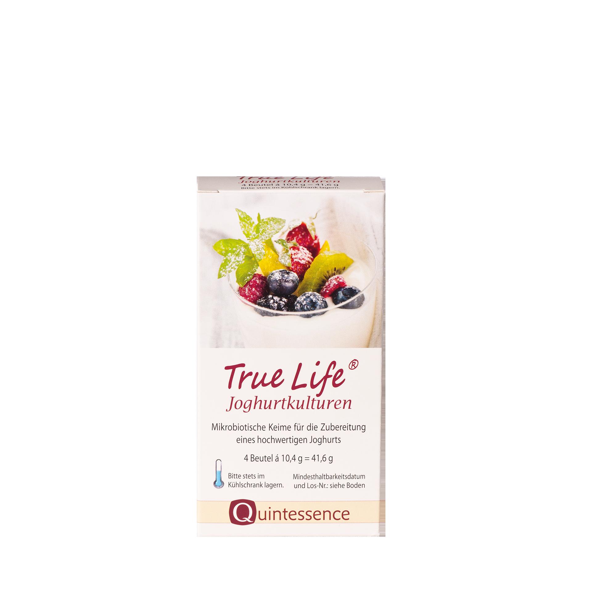 True Life Joghurtkulturen, 4 Beutel à 10,4 g