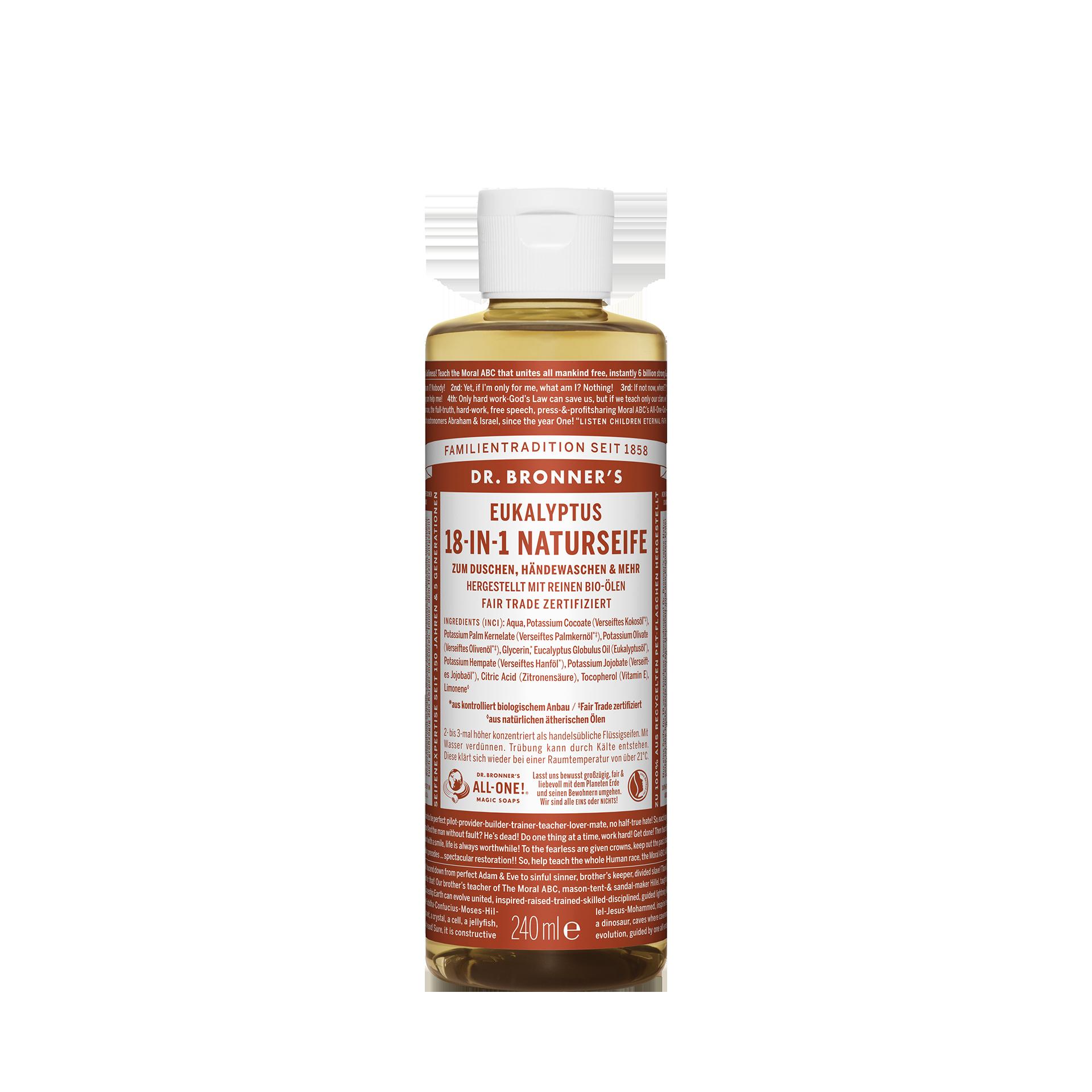 Dr. Bronner´s 18-in-1 Naturseife, Eukalyptus, 240 ml