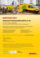 DHL-GoGreen-Zertifikat 2019