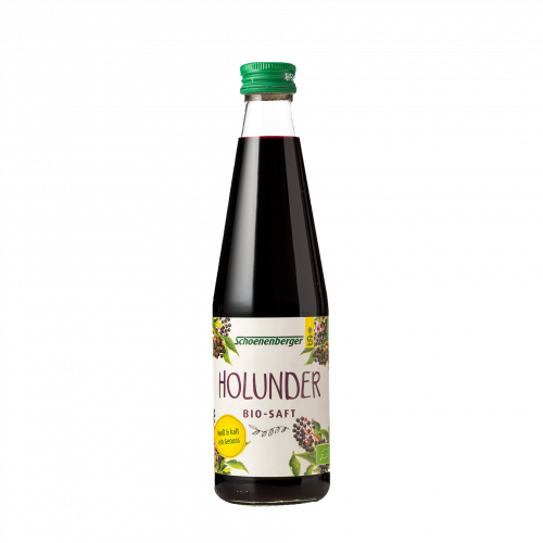 Holundersaft, Bio, 330 ml