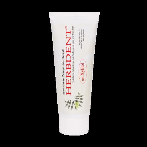 Herbdent - Ayurvedisches Zahngel mit Xylitol, 100 g