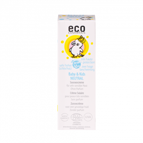 eco-cosmetics Sonnencreme Baby & Kids LSF 50+, 50 ml