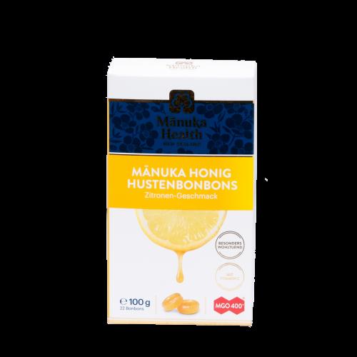 Manuka-Honig Lutschbonbons, Zitrone, 100 g