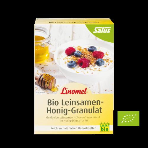 Linomel, Bio-Leinsamen-Honig-Granulat, 250 g