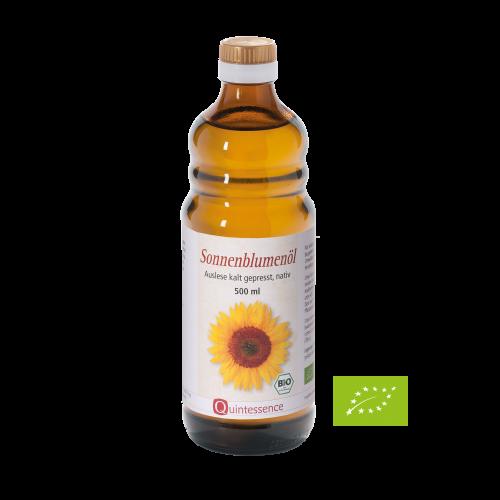 Sonnenblumenöl BIO, 500 ml