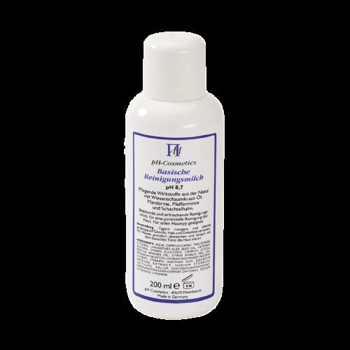 Basische Reinigungsmilch, pH 8.7, 200 ml