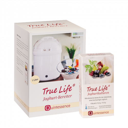 True Life Starterset: Joghurtkulturen & -bereiter: 4,-€ sparen