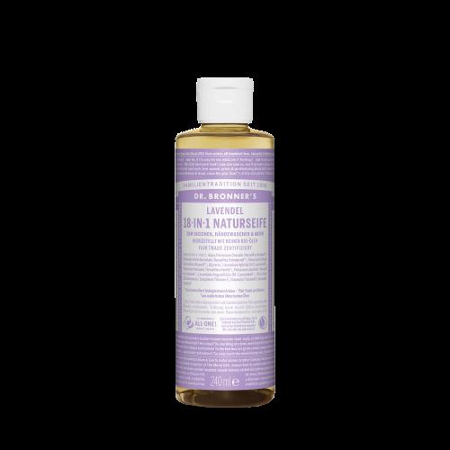 Dr. Bronner´s 18-in-1 Naturseife, Lavendel, 240 ml
