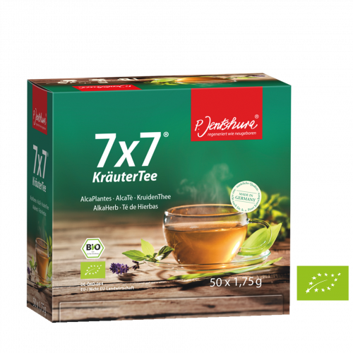 Jentschura: 7x7 Kräutertee BIO, 50 Teebeutel