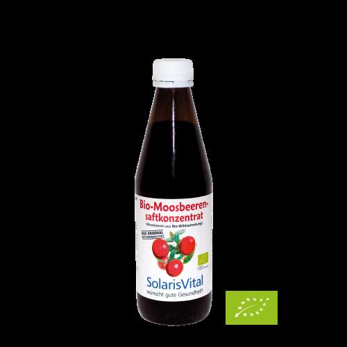 Bio-Moosbeerensaft-Konzentrat, 330 ml