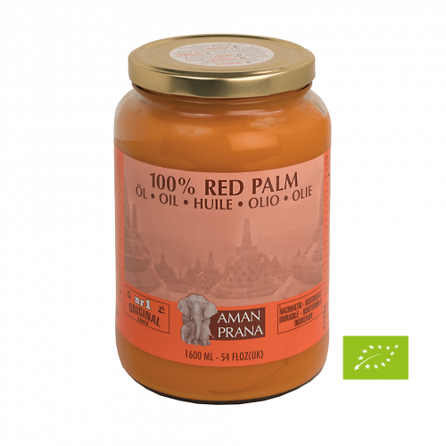 Amanprana Rotes Palmenöl Bio, 1600 ml