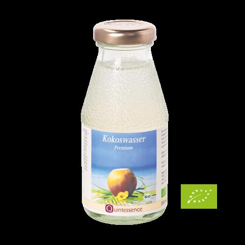 Kokoswasser, BIO, Quintessence, 350 ml