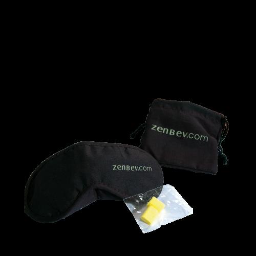 Zenbev Schlafmaske mit Ohrstöpseln