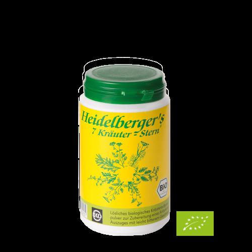 Heidelbergers 7 Kräuter Stern, Bio, 100 g